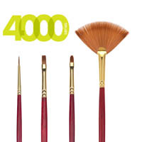 4000 Legacy Best Synthetic Sable Brushes
